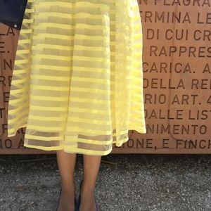 Catenella Skirt Midi Yellow S